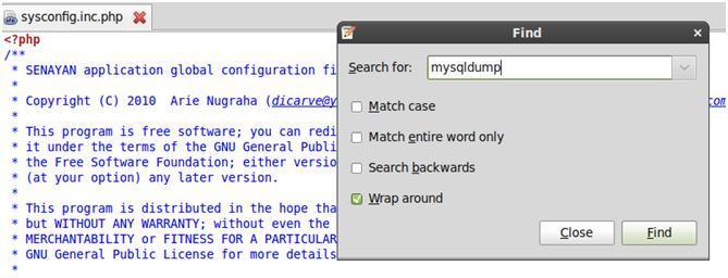 Gunakan Fasilitas Pencarian